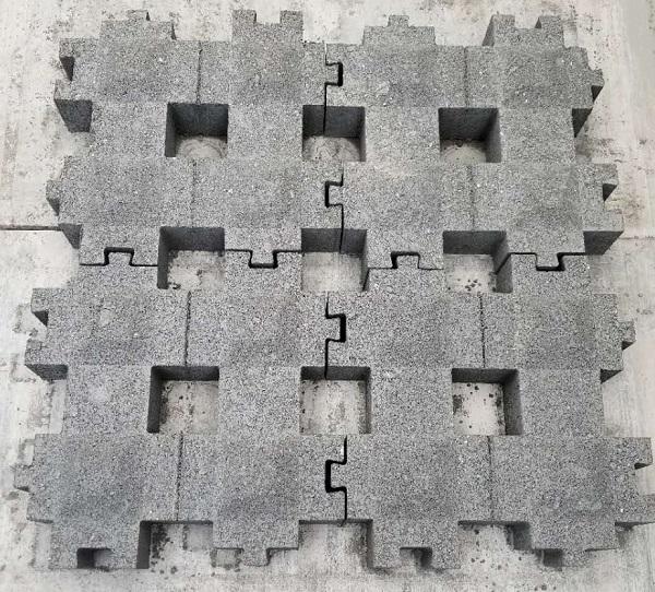 井字型护坡护坡
