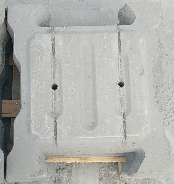 生态铰链式B型护坡砖